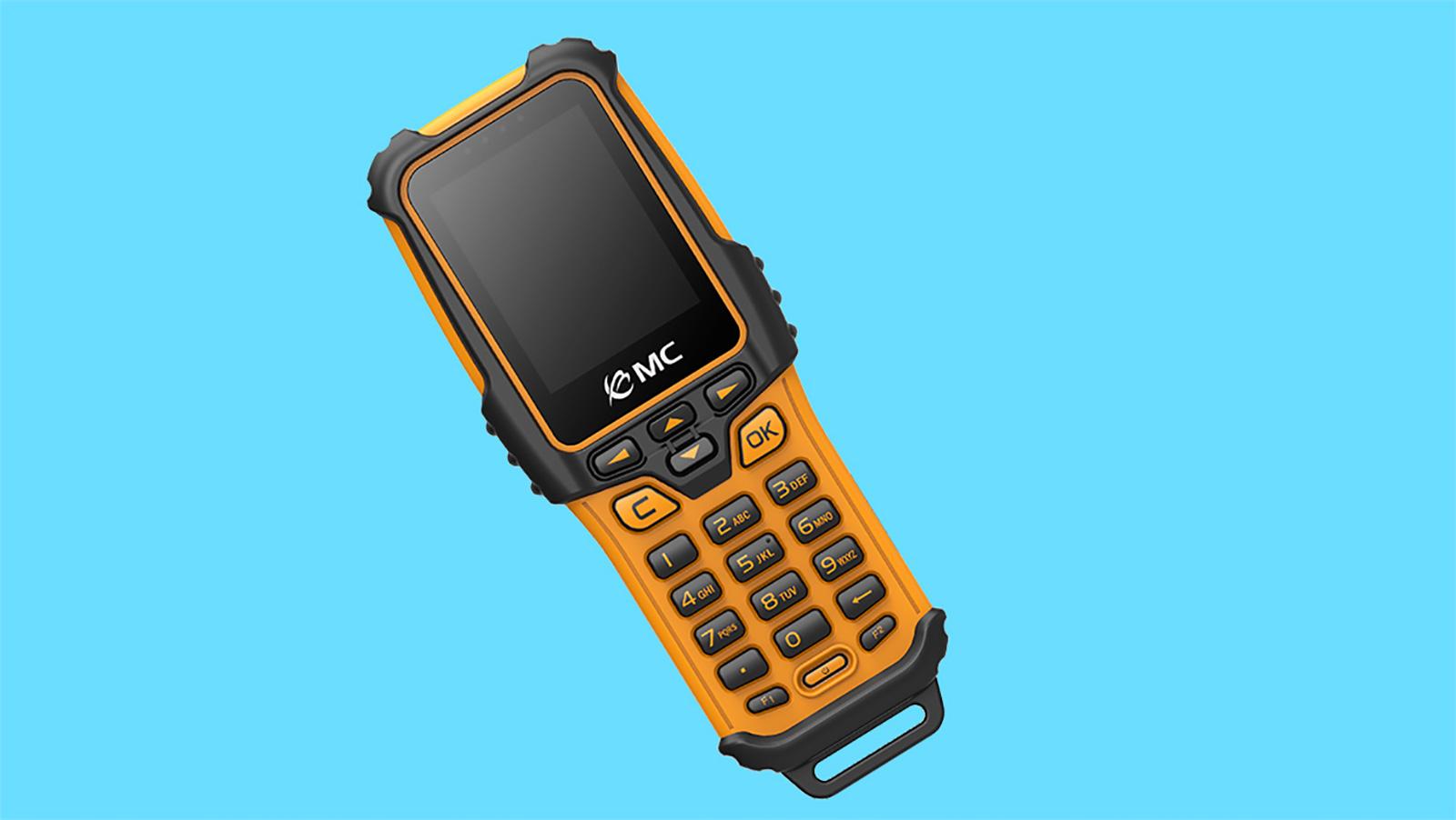 条码手持机的三防结构设计具备良好的防水性能