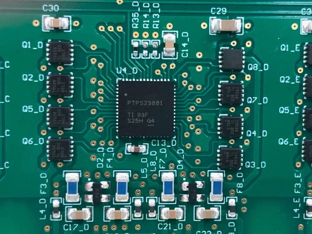 DEMO測試報告:TPS23881 4型 4線對 8通道 PoE PSE控制器