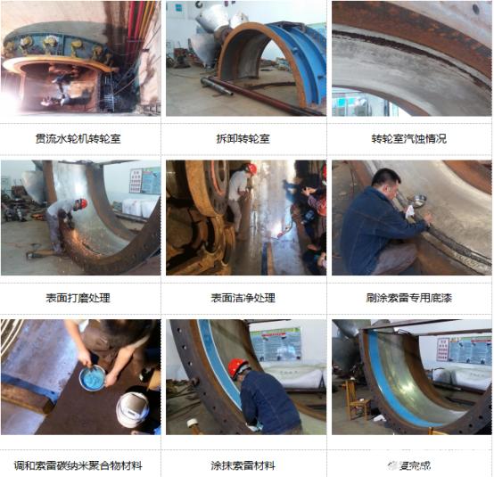 水轮机壳体汽蚀现象的原因分析,它能不能修复