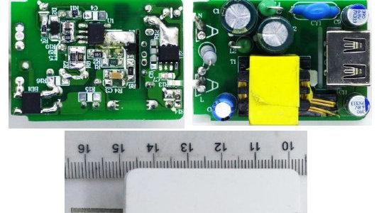 思睿达TT6247+TT3007 5V2.1A 充电器工程样机测试报告(DEMO演示)