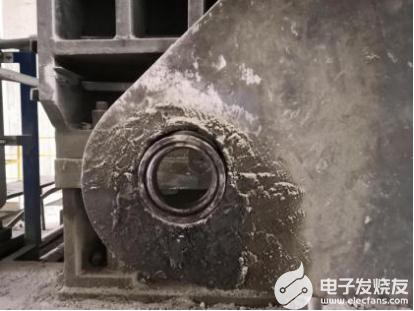 辊压机扭力支撑孔磨损修复的全过程说明