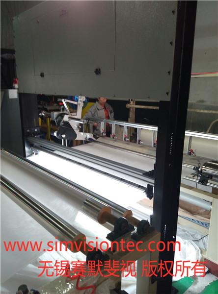 無紡布表面瑕疵檢測系統可代替人工瑕疵檢測