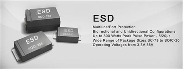 TVS二极管与ESD二极管之间的区别是什么