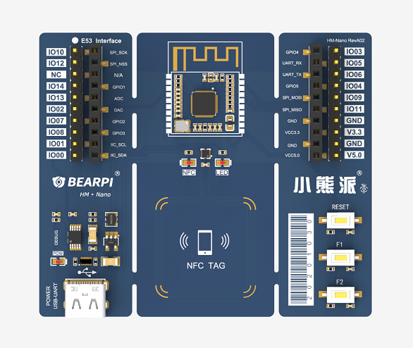 福利!搭載華為鴻蒙操作系統BearPi-HM Nano 開發板限時開搶!