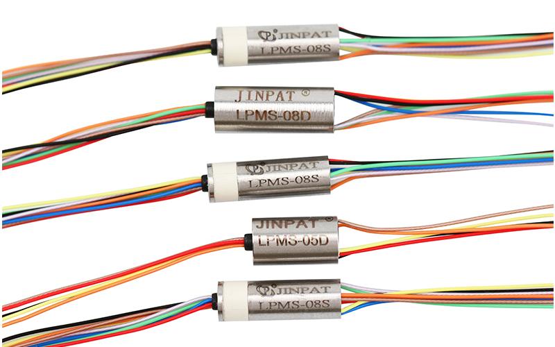 晶沛已量产最小的超微型精密导电滑环