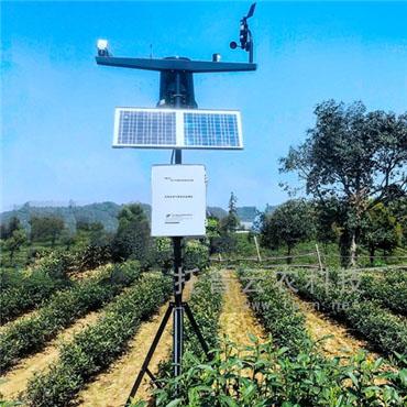 农业小型气象站有助于监测农业气象灾害的发生