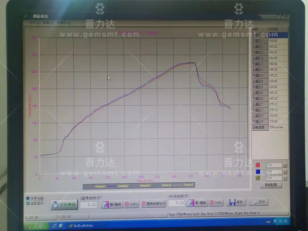 新买的回流焊炉其温度我们应该如何设定