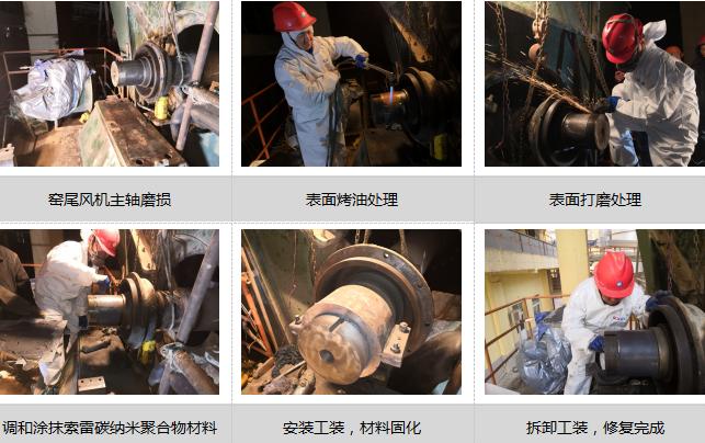 窑尾风机主轴磨损的修复方法