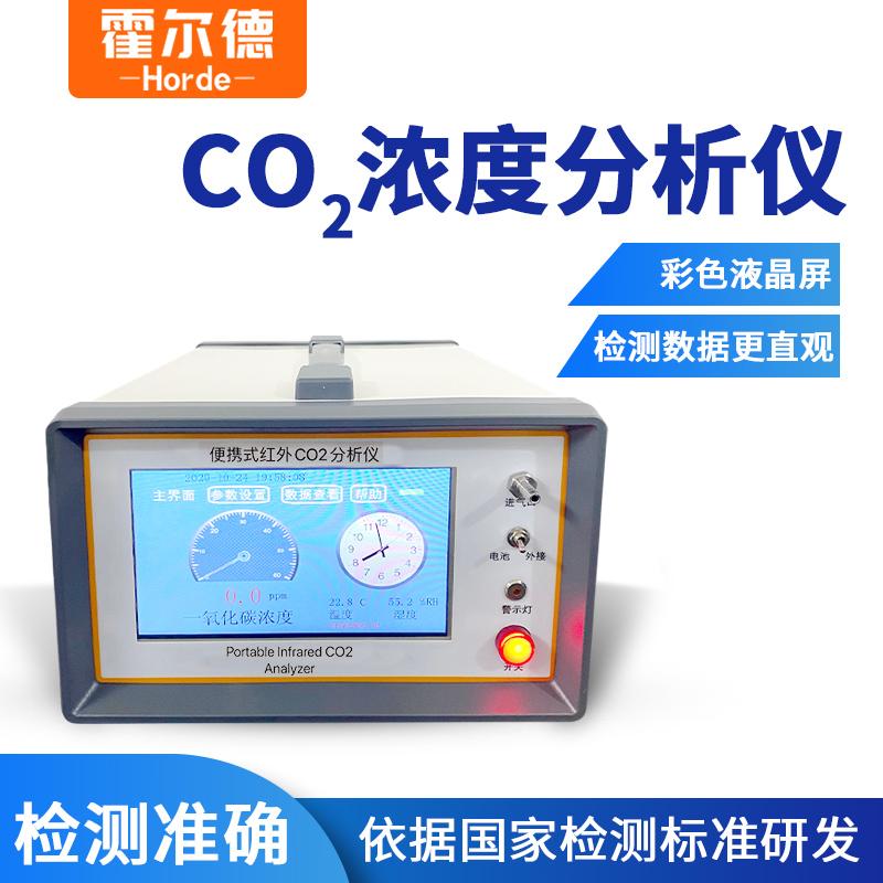 便携式二氧化碳气体分析仪的功能特点介绍