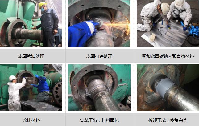 水環真空泵軸磨損的修復方法