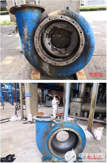 渣浆泵冲刷磨损原因及修复方法