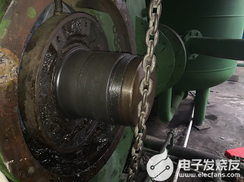 瓦斯泵轴承位磨损的修复方法