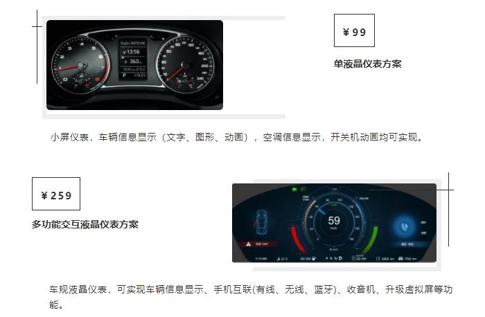 藍星科技液晶儀表解決方案助力汽車電子智能化發展