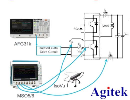 功率器件動態參數/雙脈沖測試方案