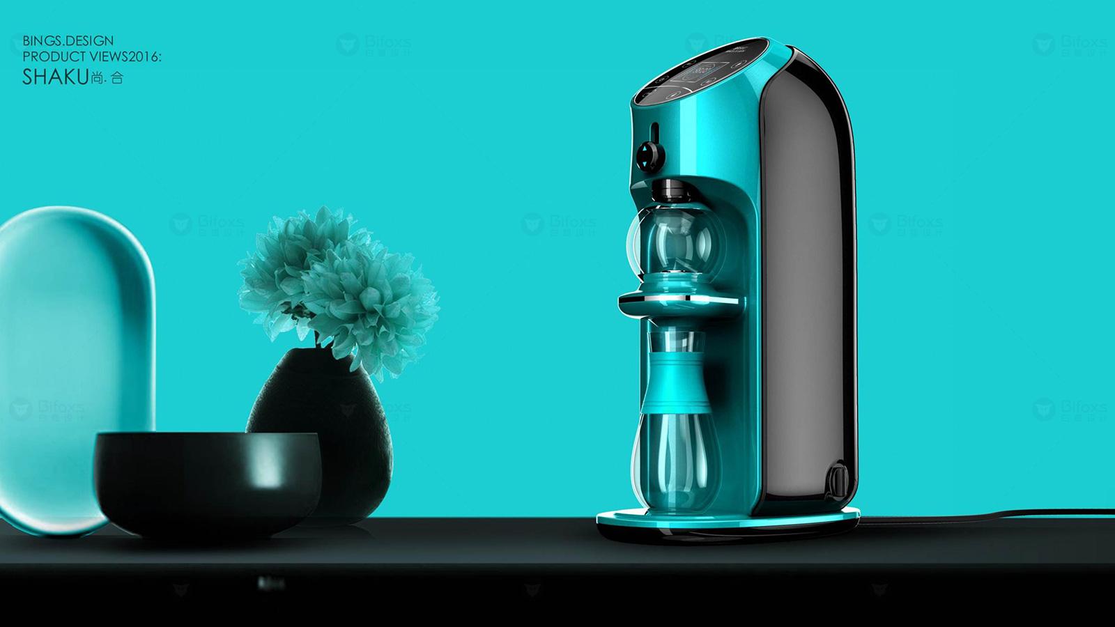 智能泡茶机设计大大提升了泡茶的效率