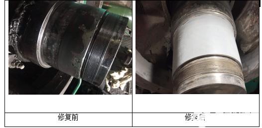 水环真空泵轴承位磨损的修复方法