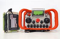 開口機工業無線遙控器的功能說明