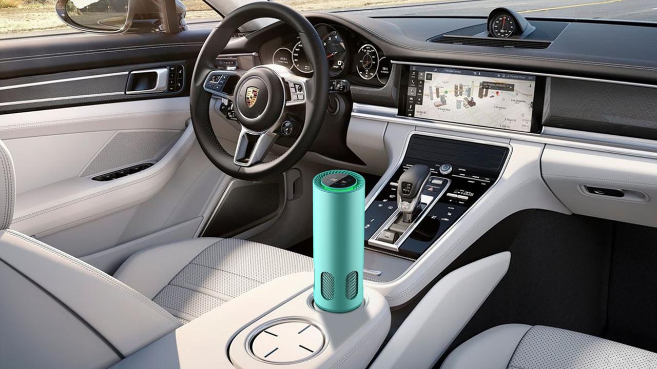 车载空气净化器不仅可以适用于车内,也可以随身携带