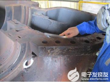 高炉TRT中分面腐蚀原因及修复方法