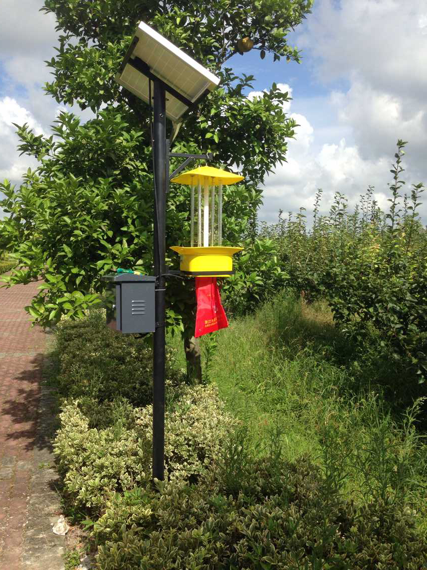农业杀虫灯的应用有效解决了虫害发生高峰期的问题