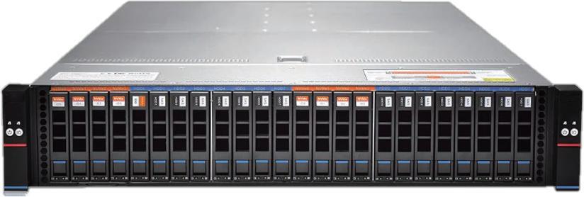领存S2500系列高性能盘位双控存储阵列亮相