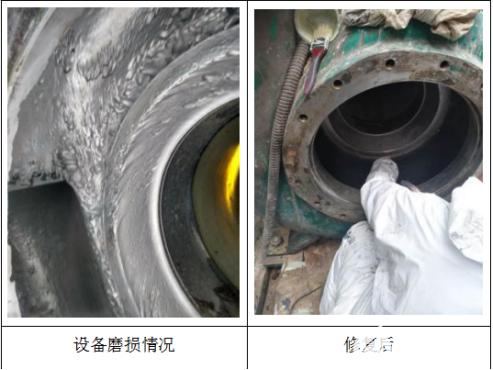 脱硫泵泵壳腐蚀冲刷原因及修复工艺