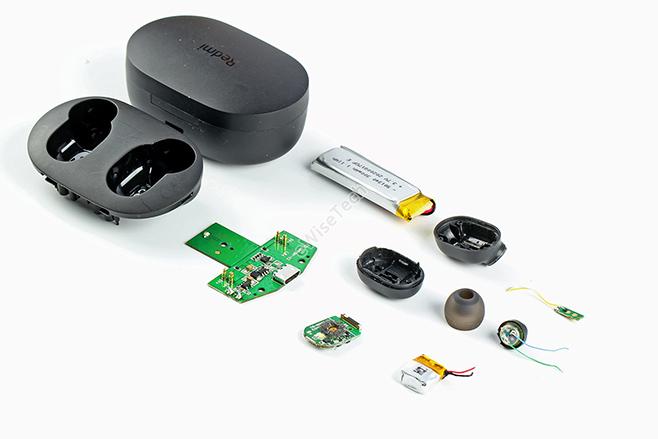 Redmi AirDots 2怎么樣?拆解藍牙真無線耳機對比上一代藍牙Soc類似