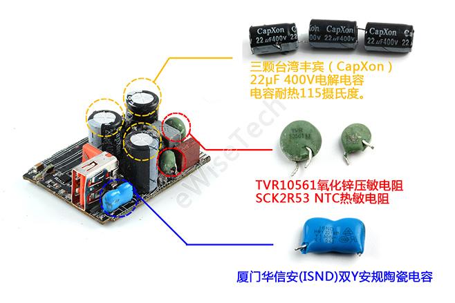 小米55w氮化镓充电器怎么样?小米氮化镓充电器拆解评测氮化镓芯片