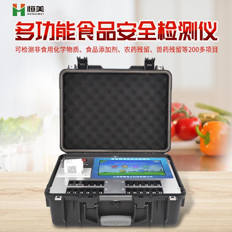 食品安全智能分析系统HM-GS300的产品介绍