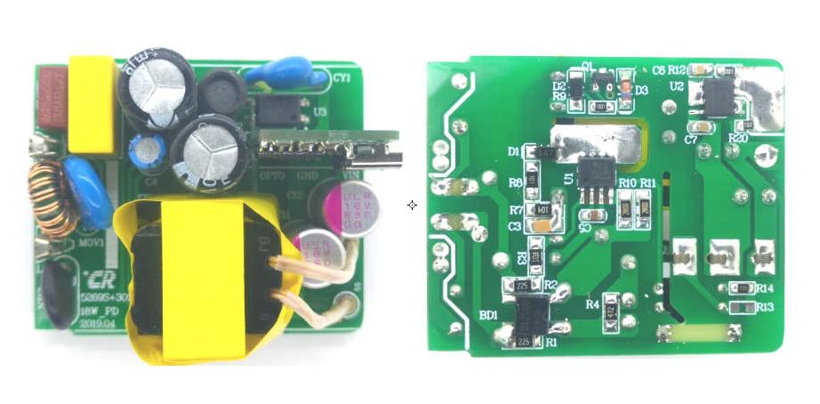 支持QC3.0快充方案来啦 做足18瓦的思睿达TT5269SSK+TT3016方案