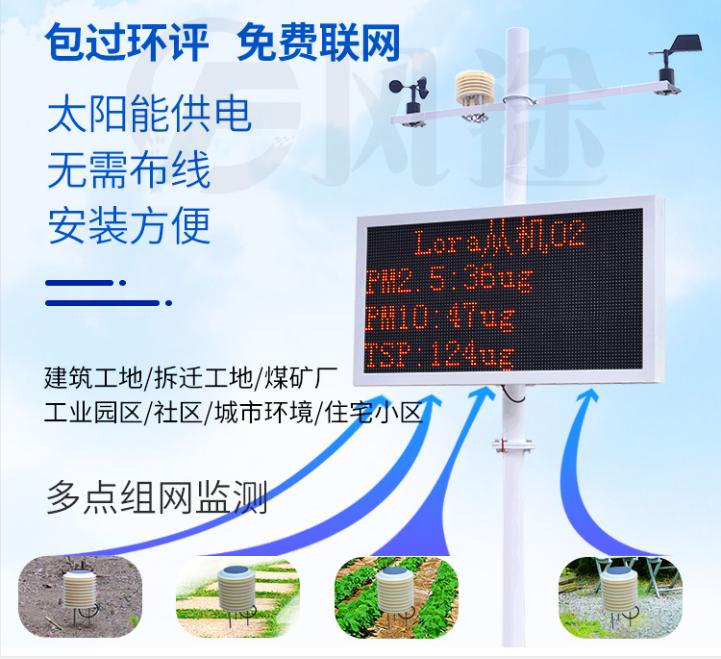 建筑工地噪声扬尘监测的系统组成以及产品特点