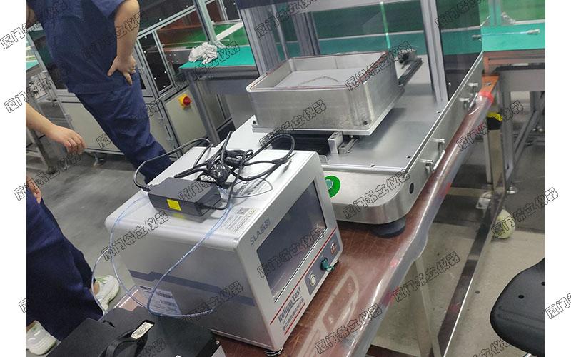 锂电池防水气密性检测设备怎么结合仿形模具使用