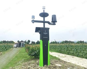 利用自动气象站为农业种植提供科学数据