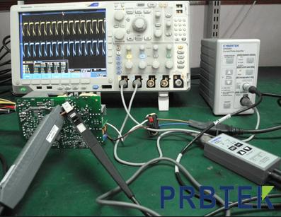使用电流探头校准装置进行准确测量