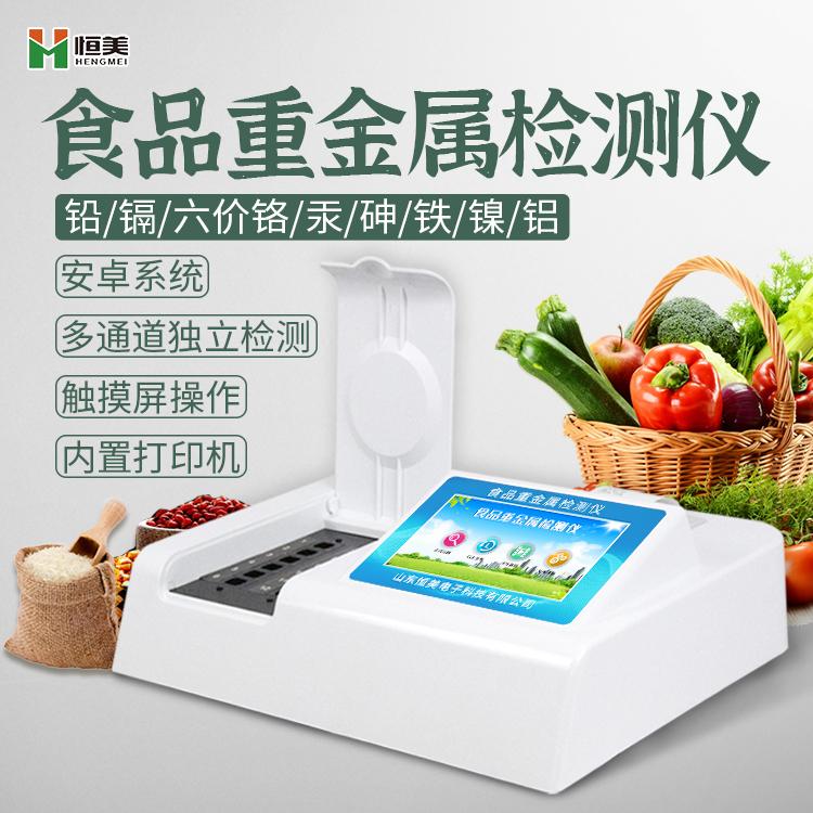 食品重金属含量检测仪[恒美仪器HM-SZ01]