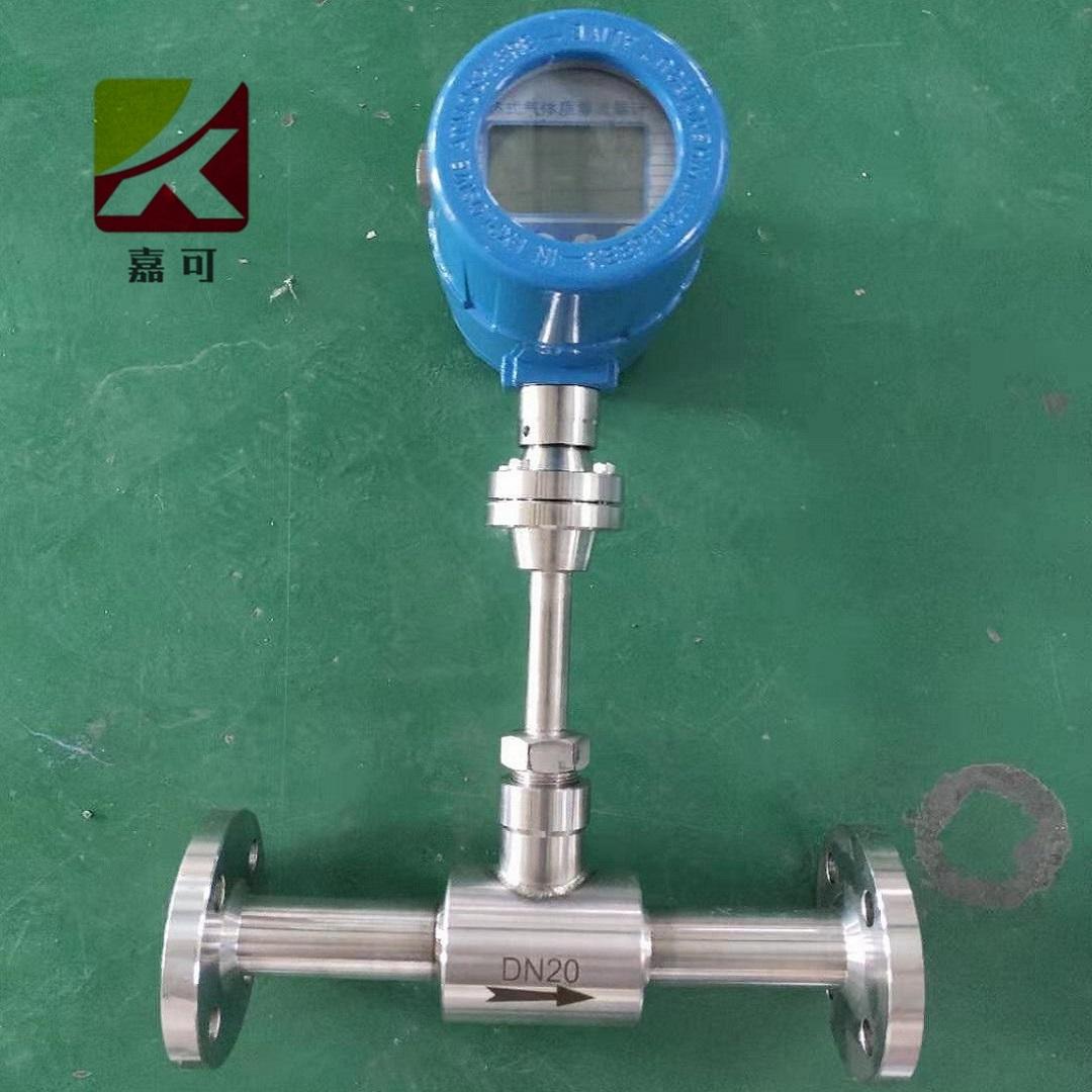 热式质量流量计的应用及设计