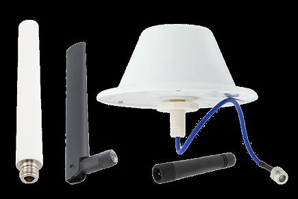 可满足5G应用需求的全向、胶棒天线和圆顶天线
