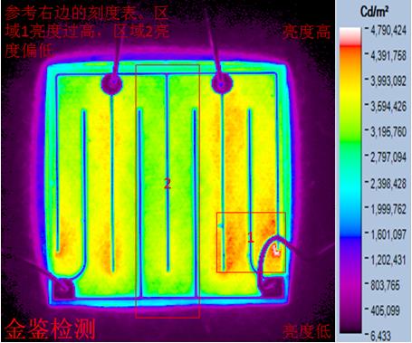 LED芯片发光均匀度测试案例分析