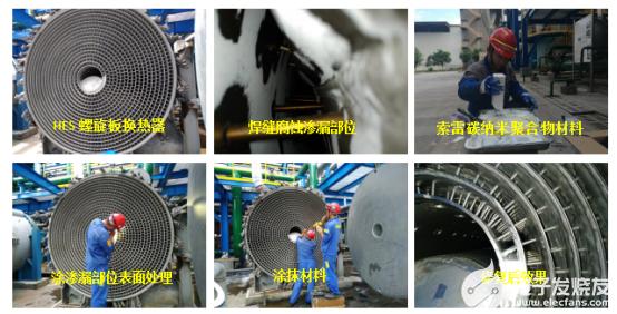 螺旋板换热器焊缝腐蚀的防护方法