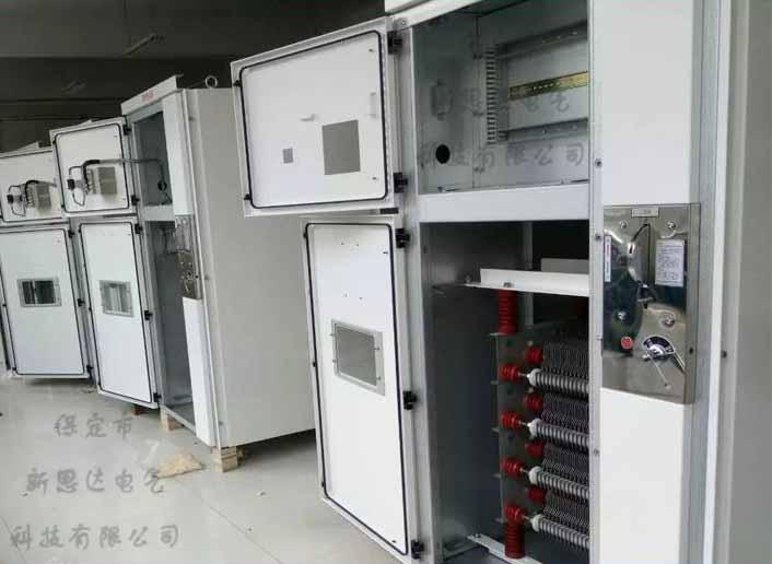 高压柴油发电机组接地电阻柜有两种设计方案及优缺点