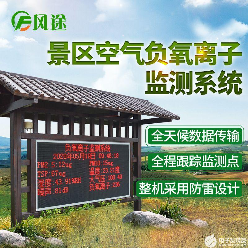 景区负氧离子监测站优势,公园景区负氧离子监测系统...