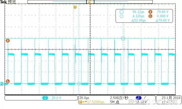 AC115/60Hz,100%load 输出二极管Vds