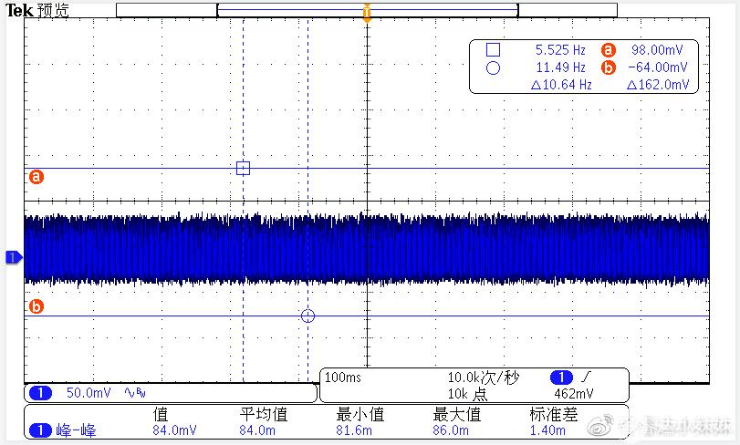 CR6267SH+CR3006 90V/60HZ 滿載輸出紋波