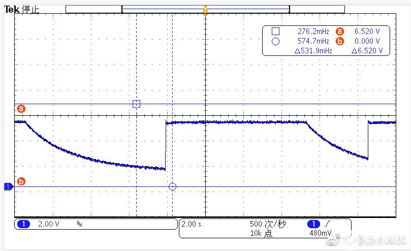 CR6267SH+CR3006 264V/650HZ FB短路波形