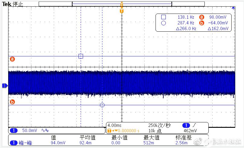 CR6267SH+CR3006 230V/50HZ輸出紋波