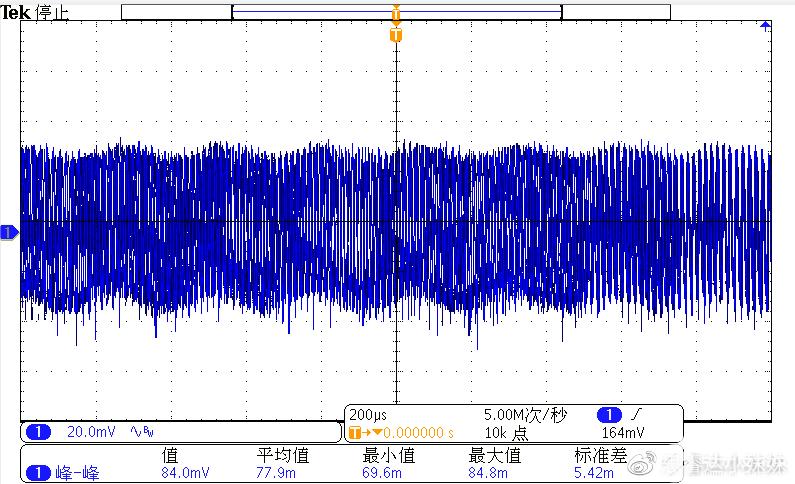 XXX6255+XXX6905 230V/50HZ輸出紋波