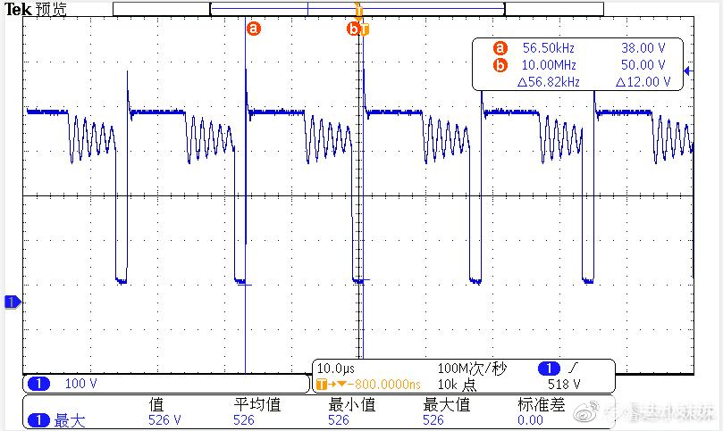XXX6255+XXX6905 264V/50HZ MOS波形