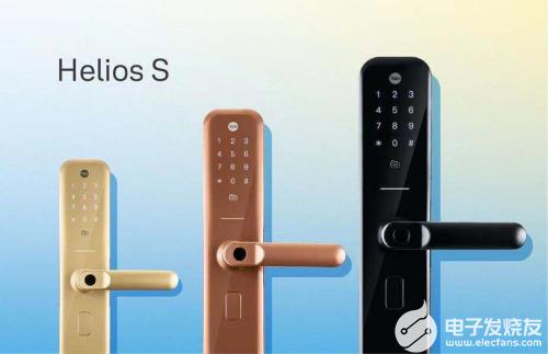 耶鲁智能锁Helios S 兼具超高颜值与硬核品...