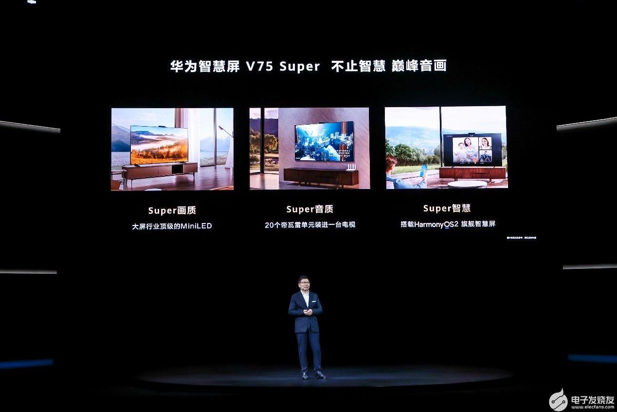 不止智慧 華為智慧屏 V75 Super實力詮釋華為巔峰音畫新體驗