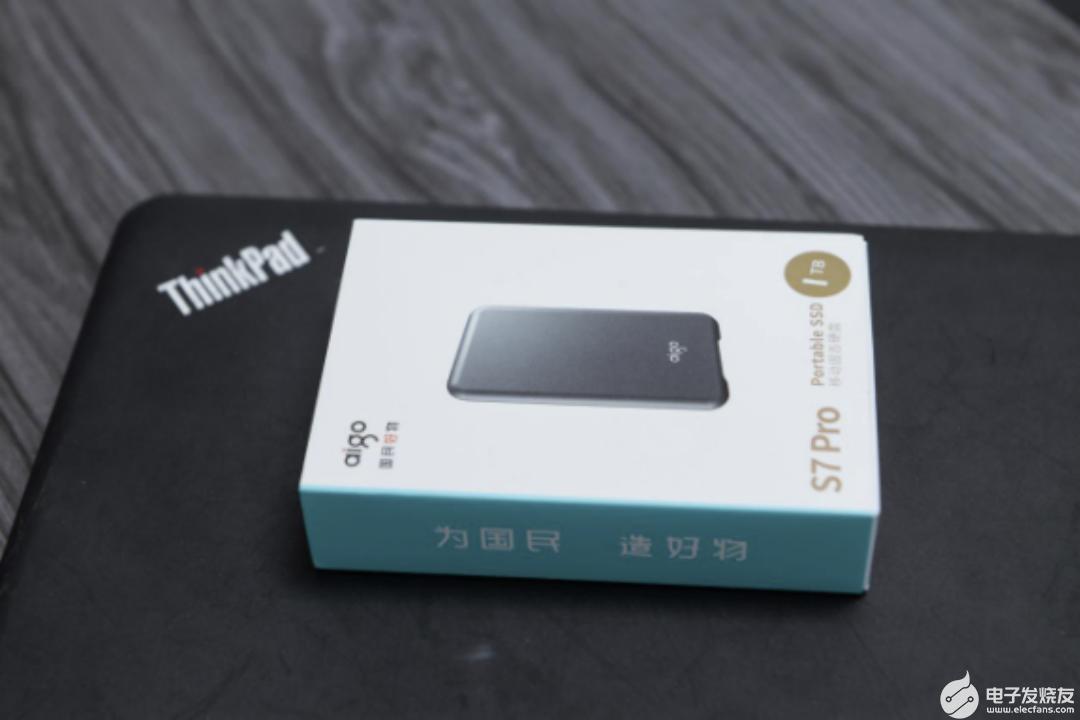 aigo国民好物移动固态硬盘S7 Pro 外出拍摄好助手